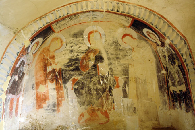 Les grottes du Père Garedja