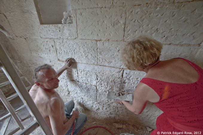 Les joints dans le tuffeau selon Troglita