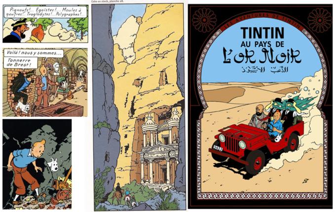 BD et troglos 1 : Tintin