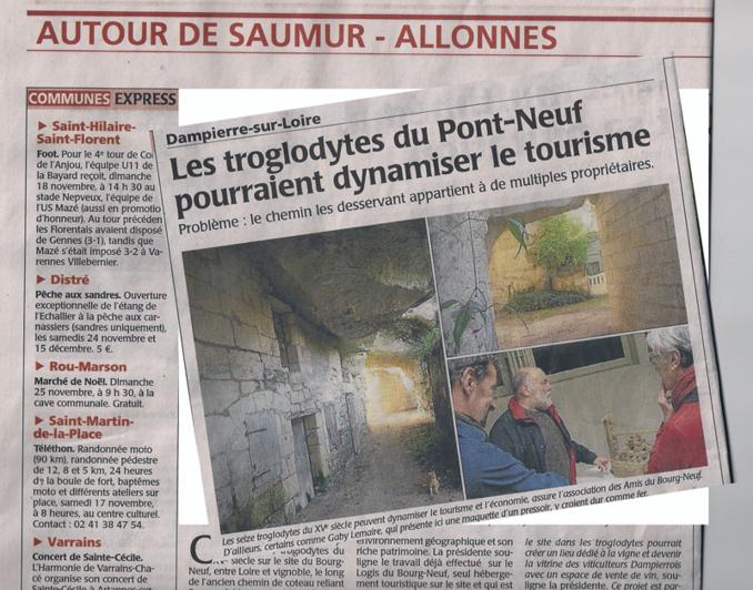 """Le """"petit rapporteur"""" en troglo"""