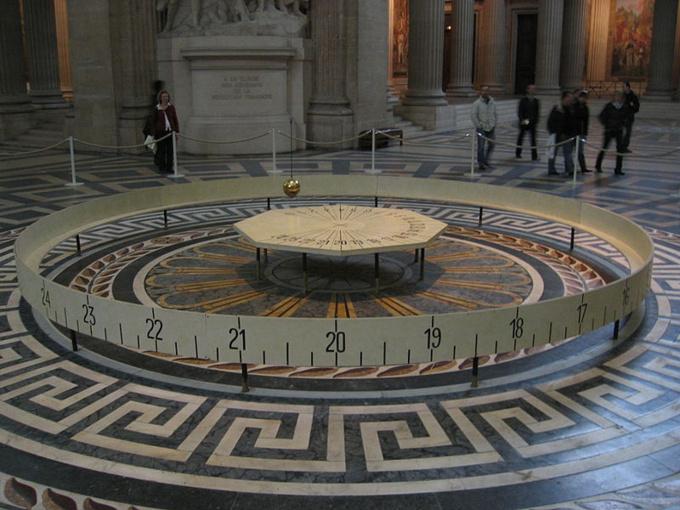 Pendule de Foucault du Panthéon de Paris