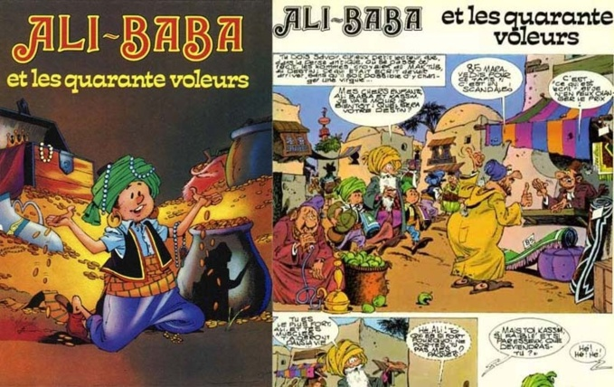 Ali Baba, on line