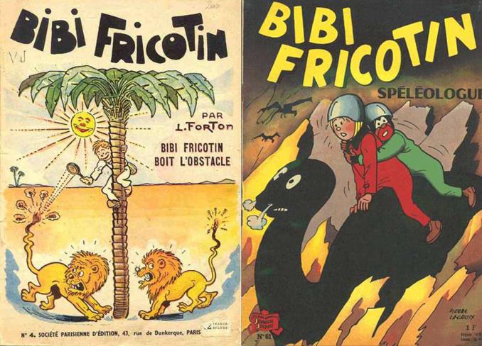 Bibi Fricotin et le monde souterrain