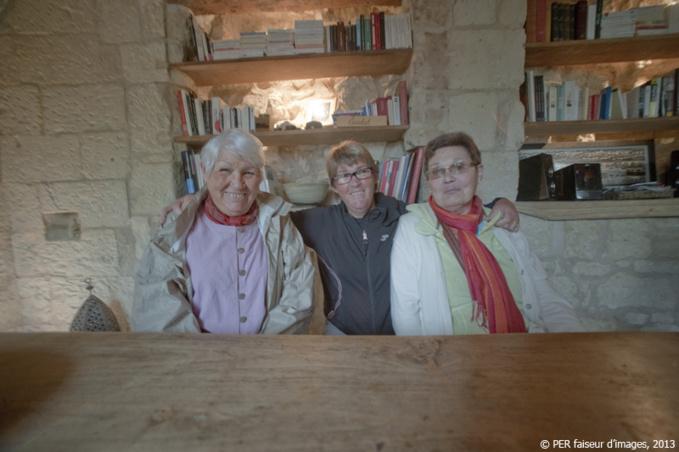 """Les """"Trois soeurs"""", version troglo"""