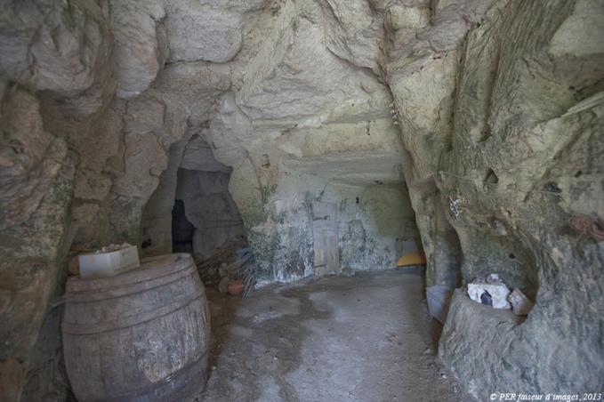 Entrée de cave, zone fragile
