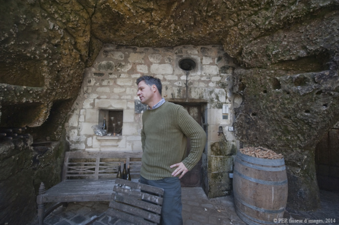 Matthieu Vallée, vigneron bio