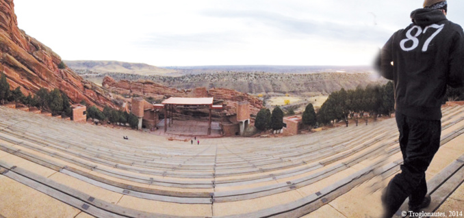 Red Rocks pour rock stars...