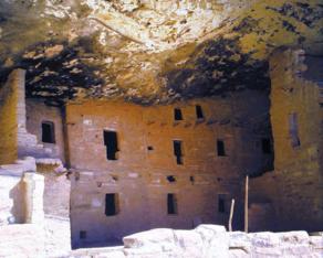 Mesa Verde, Indiens sous roche