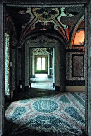 appartement de grottes, Palais de Borromée