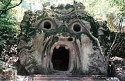 Bomarzo, la bouche du monstre