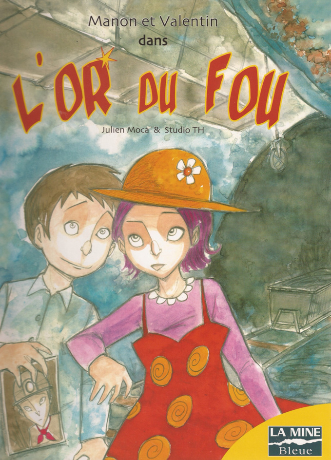 Troglo bd, la mine d'or de Julien Moca.
