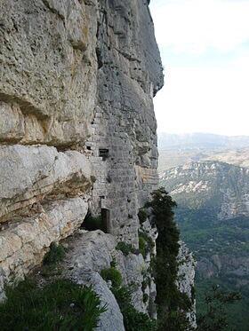 La forteresse troglodytique de Gourdon