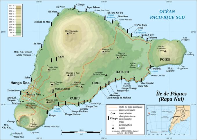 Le passé souterrain de l'île de Pâques
