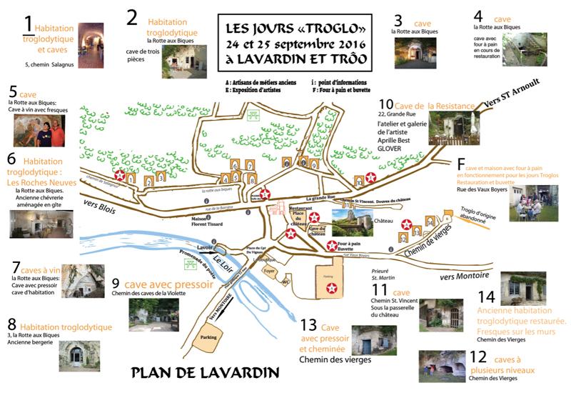 Journées « Troglos » à Trôo et Lavardin