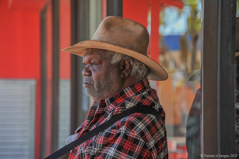 Sortie de supermarché du coté d'Uluru