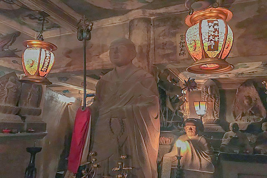 Tamagawa Daishi, un temple souterrain à Tokyo