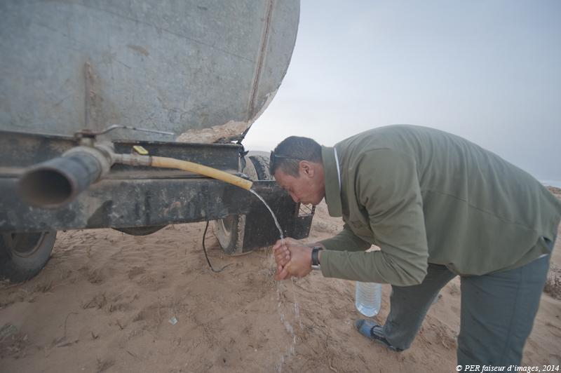 Histoire d'eau à Aglou
