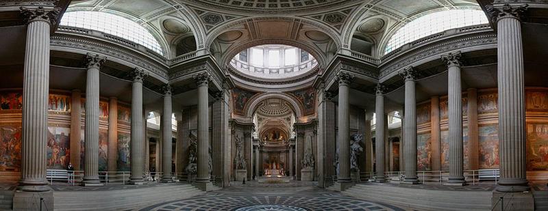 La crypte du Pantheon