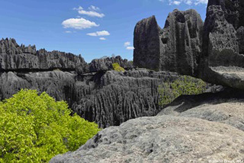 Les tsingy de Bemaraha, Madagascar