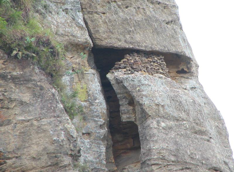 Tombeau Bara dans le Parc national de l'Isalo