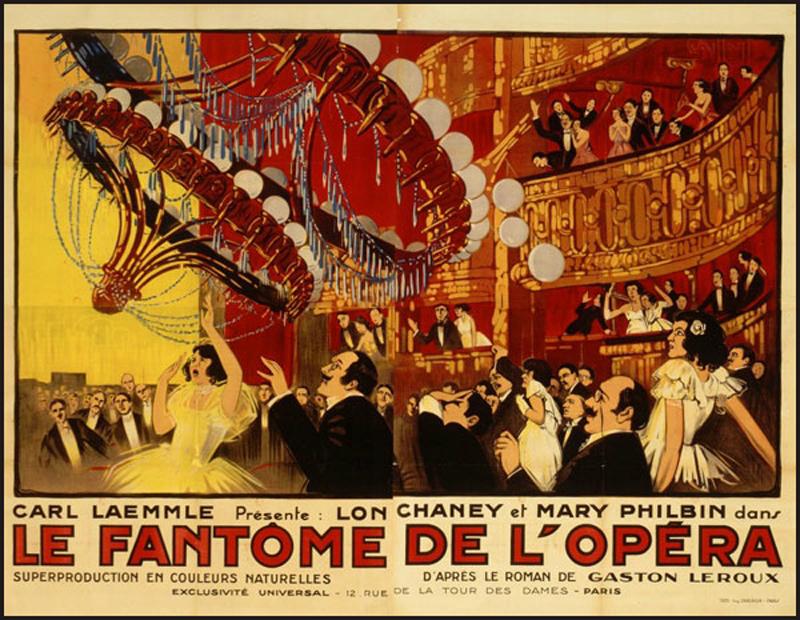 De la littérature souterraine : Le Fantôme de l'Opéra (3)