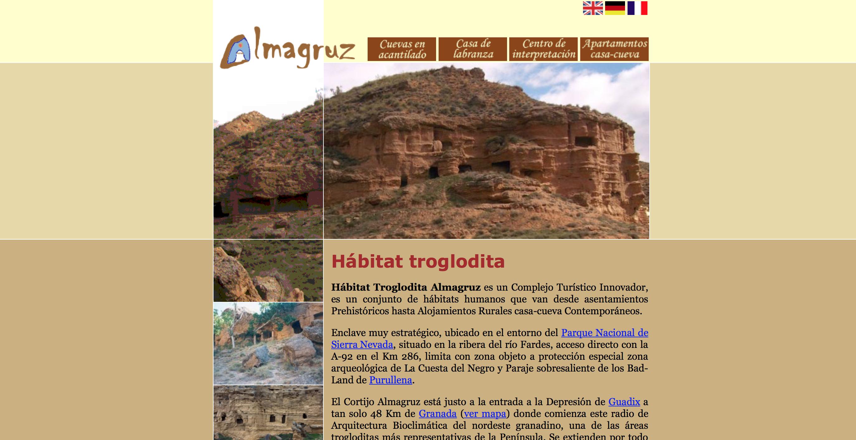 Habitat Troglodita Almagruz