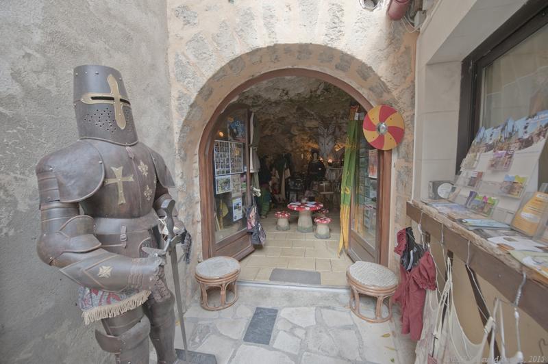 Chauvigny : le repaire de l'Atanyère (2)