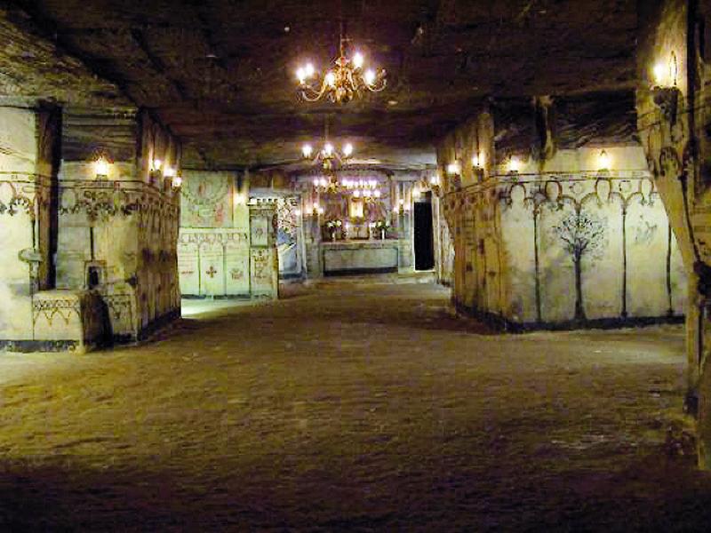 Des souterrains au Pays-Bas
