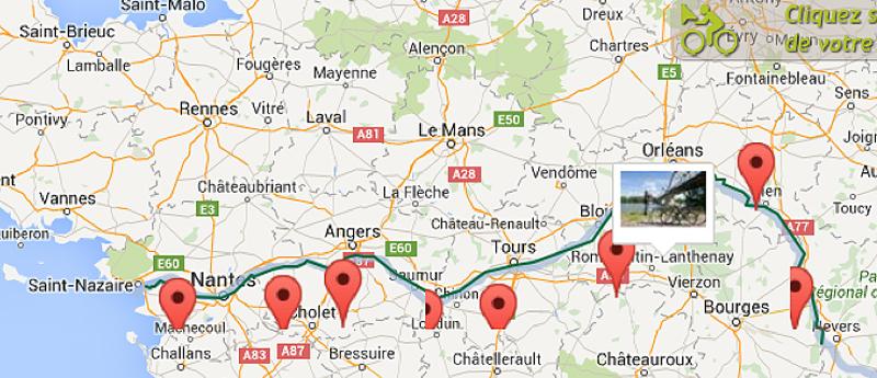 La Loire sans pas comptés