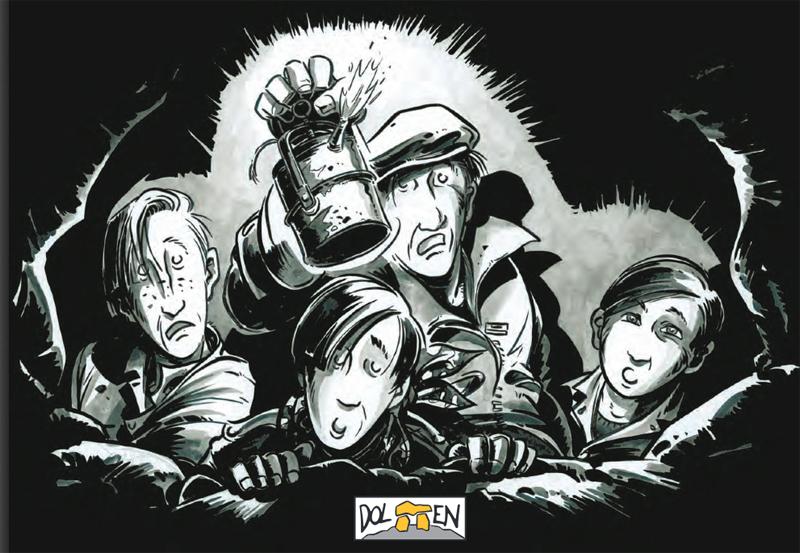Lascaux en bande dessinée