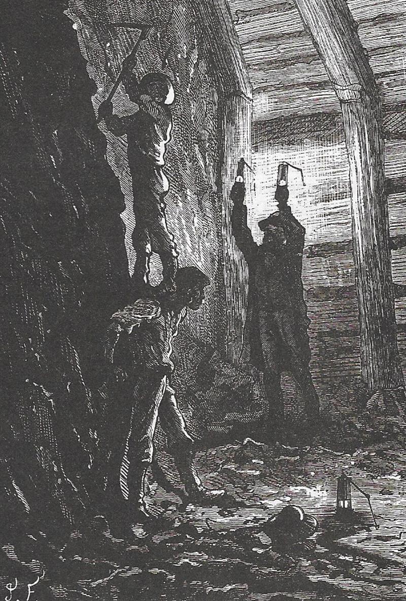 De la littérature souterraine : Les Indes noires, Jules Verne (2/2)