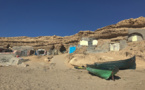 Grottes de pêcheurs au Maroc : Laftès