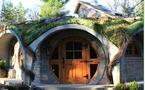 Une maison de hobbit au Quebec !