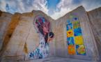 Street art on the rocks