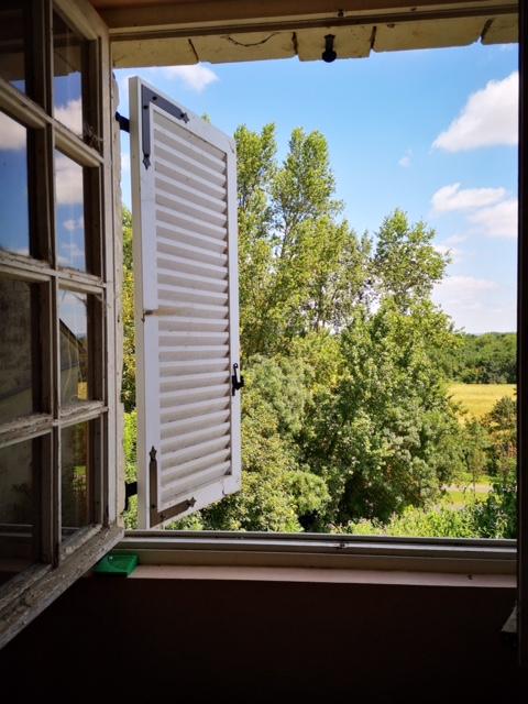la vue sur la vallée de la Loire